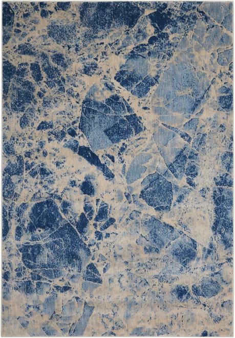 Nourison Somerset Blue Area Rug - NOR-ST745-Blue