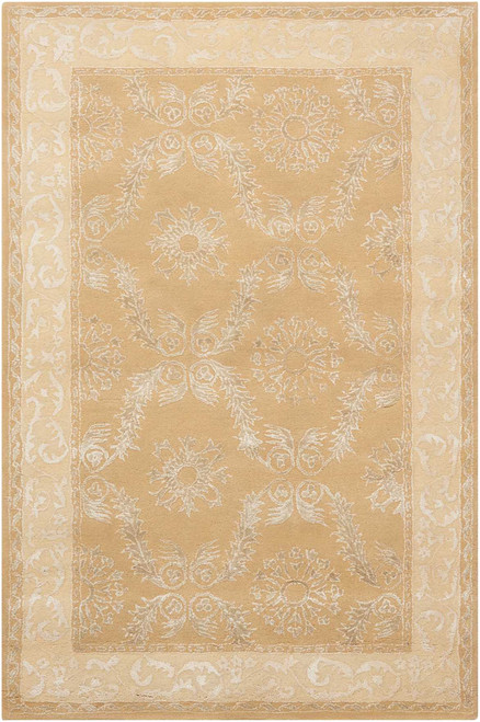 Nourison Symphony Gold Area Rug - NOR-SYM08-Gold