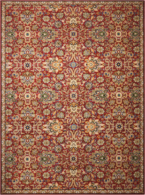 Nourison Timeless Red Area Rug - NOR-TML17-Red