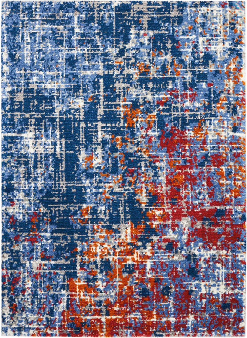 Nourison Twilight Red-Blue Area Rug - NOR-TWI25-Red-Blue