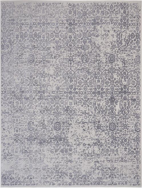 Nourison Vintage Decor Slate and Grey Vintage Area Rug - NOR-VID03-Ash