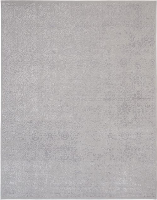 Nourison Vintage Decor Grey Vintage Area Rug - NOR-VID03-Silver