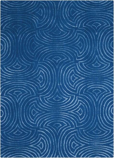 Nourison Vita Blue Area Rug - NOR-VIT11-Blue