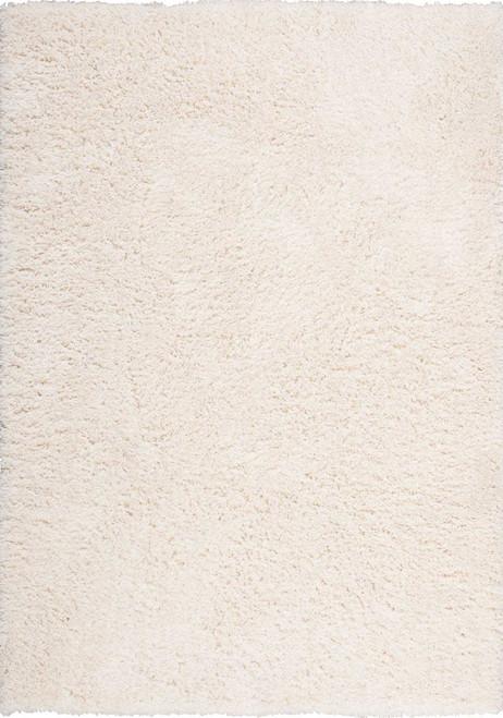 Nourison Zuma Ivory Shag Area Rug - NOR-ZUM01-Ivory