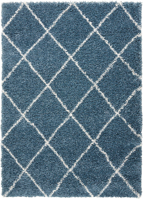 Nourison Brisbane Slate Blue Area Rug - NOR-BRI03-Slate Blue