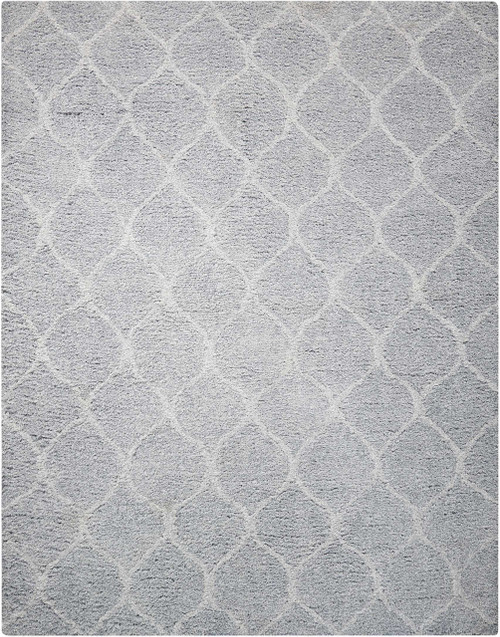 Nourison Galway Light Grey Area Rug - NOR-GLW08-Light Grey