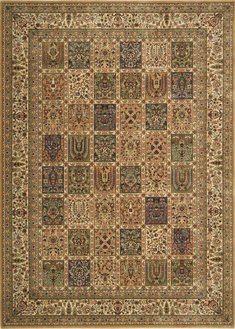 Nourison Persian Arts Beige Area Rug - NOR-BD01-Beige