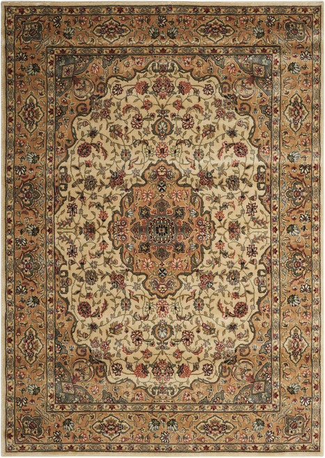 Nourison Persian Arts Ivory-Gold Area Rug - NOR-BD02-Ivory-Gold