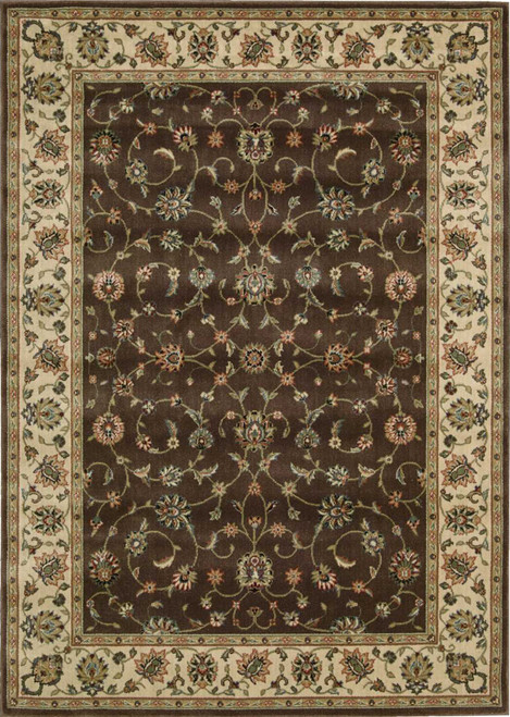 Nourison Persian Arts Chocolate Area Rug - NOR-BD04-Chocolate