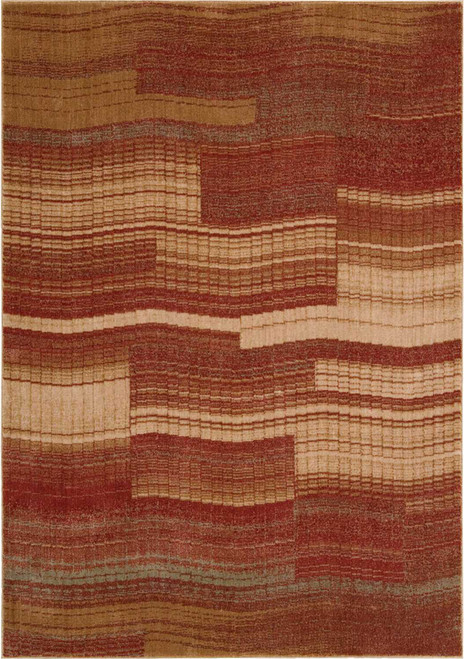 Nourison Somerset Flame Area Rug - NOR-ST87-Flame