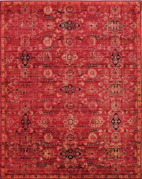Nourison Timeless Red Area Rug - NOR-TML07-Red