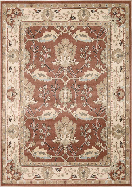 Nourison Walden Brick Area Rug - NOR-WAL04-Brick