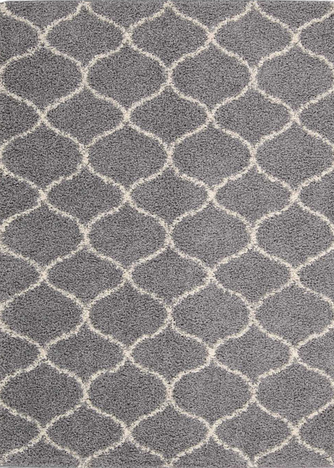 Nourison Windsor Silver Area Rug - NOR-WIN01-Silver