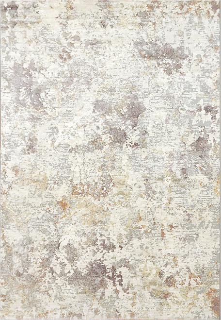 Dynamic Rugs Couture 52023-6414 Grey-Gold