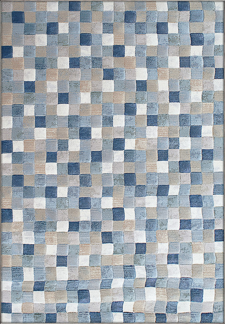 Dynamic Rugs Eclipse 63339-6121 Multi Blue Contamporary