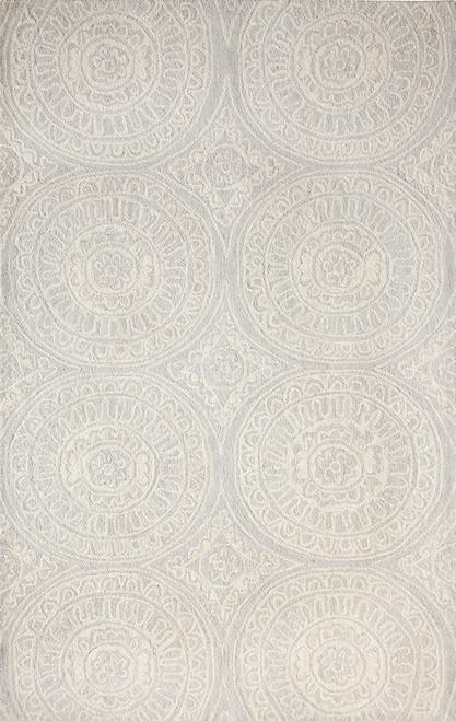 Dynamic Rugs Galleria 7866-140 Silver