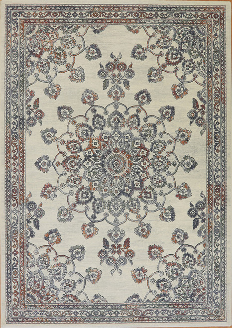 Dynamic Rugs Imperial 63420-7626 Ivory-Multi