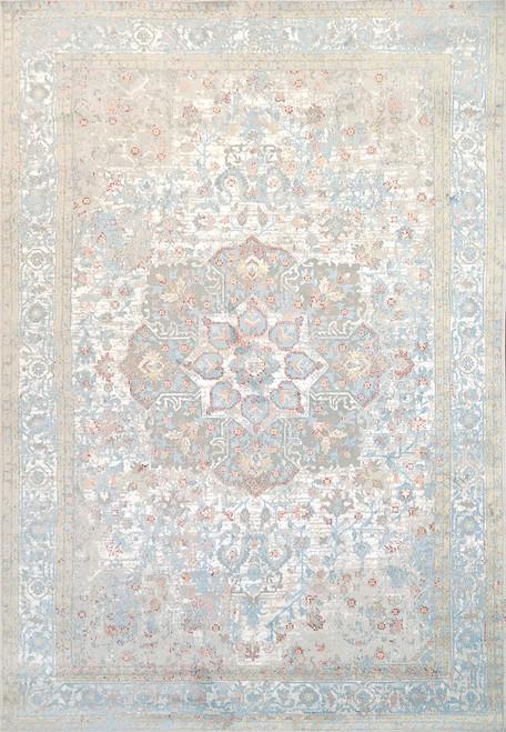 Dynamic Rugs Leda 9869-159 Ivory-Blue