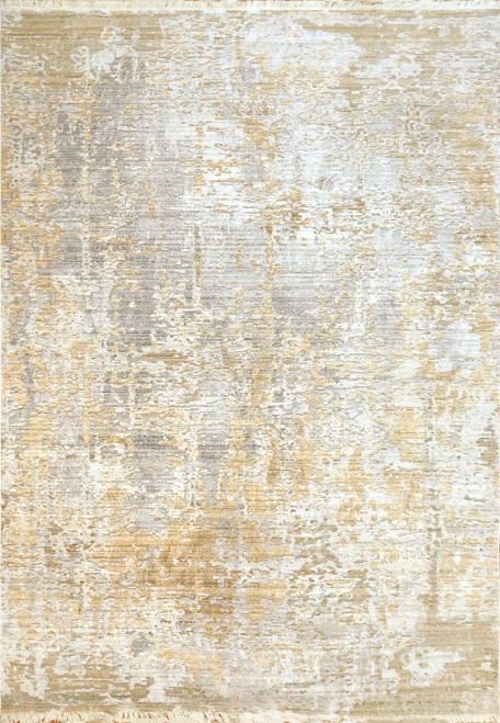 Dynamic Rugs Mood 8452-800 Yellow Traditional