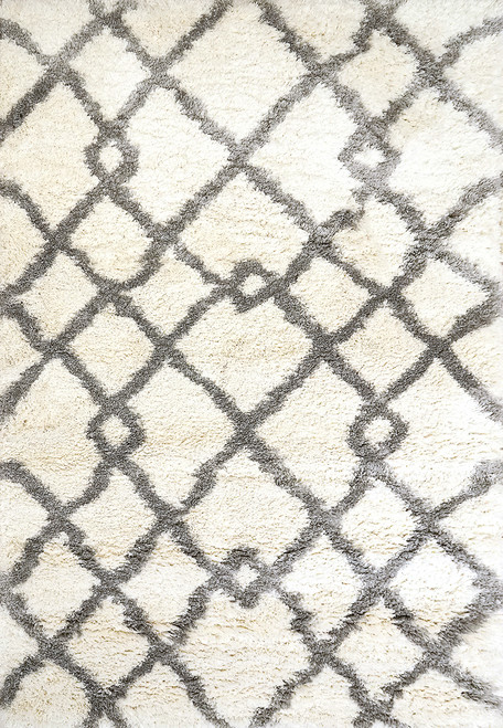 Dynamic Rugs Nitro Lux 6361-190 Ivory-Grey