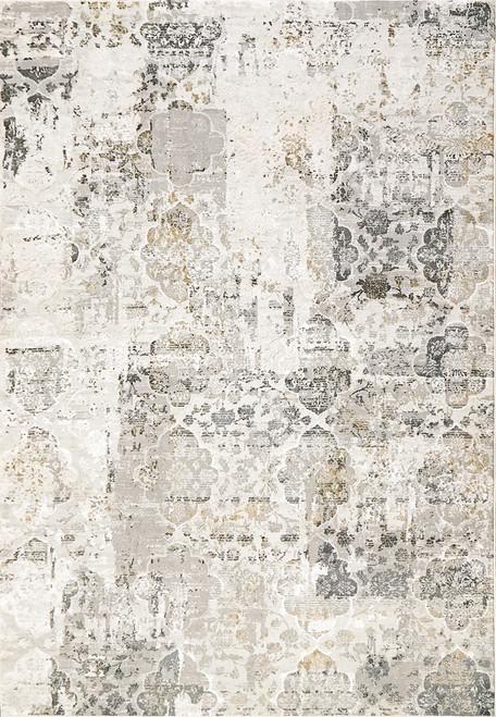 Dynamic Rugs Quartz 27077-190 Ivory-Grey