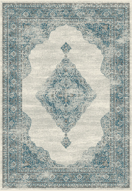 Dynamic Rugs Regal 88416-6949 Grey-Blue Traditional