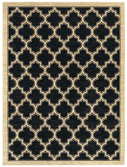 Dynamic Rugs Yazd 2816-090 Black