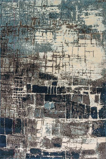 Dynamic Rugs Zodiac 6624-950 Grey-Blue
