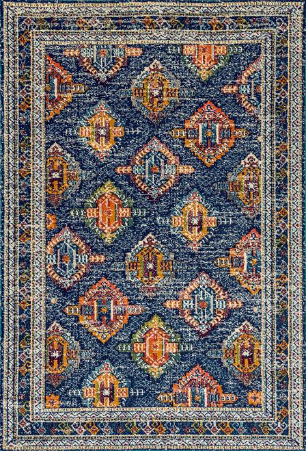 Dynamic Rugs Zodiac 6628-560 Blue-Orange