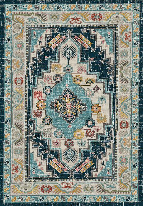 Dynamic Rugs Zodiac 6631-590 Beige-Blue