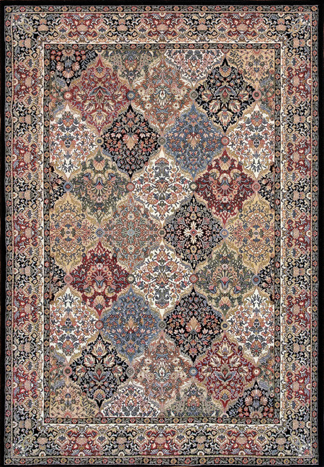 Dynamic Rugs Ancient Garden 57008-3233 Multi Traditional