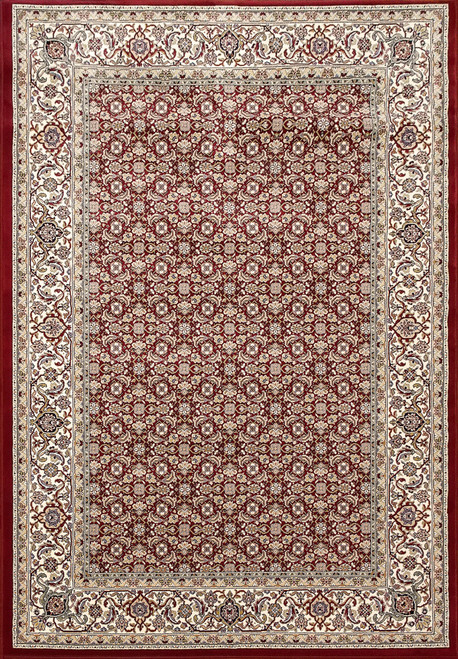 Dynamic Rugs Ancient Garden 57011-1414 Red-Ivory Traditional