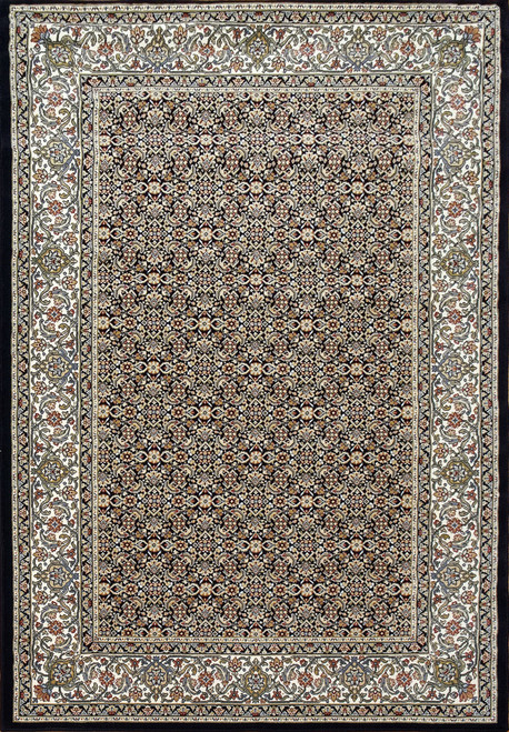 Dynamic Rugs Ancient Garden 57011-3464 Navy Traditional