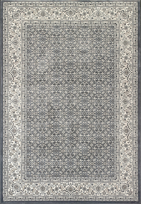 Dynamic Rugs Ancient Garden 57011-5666 Grey-Cream Traditional