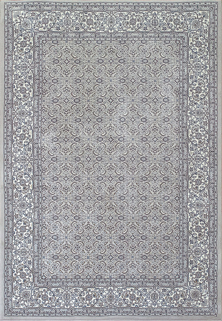 Dynamic Rugs Ancient Garden 57011-9666 Soft Grey-Cream Traditional