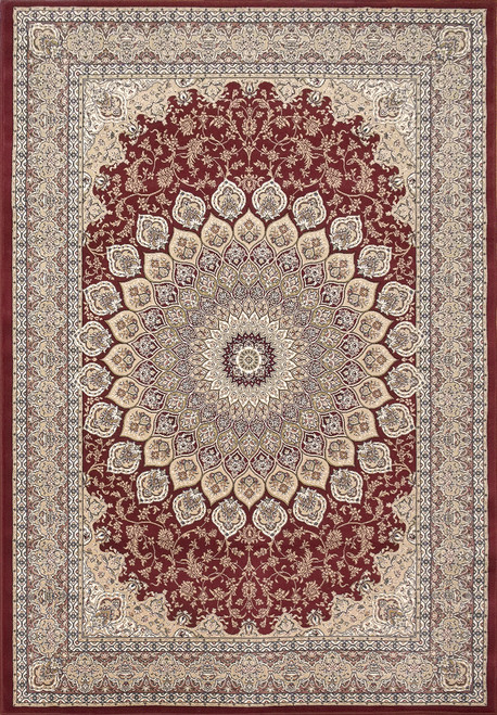 Dynamic Rugs Ancient Garden 57084-6464 Ivory Traditional