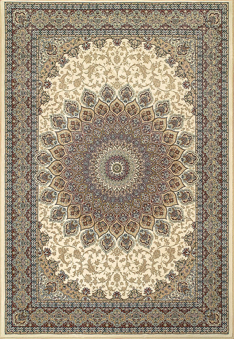 Dynamic Rugs Ancient Garden 57090-6484 Ivory Traditional