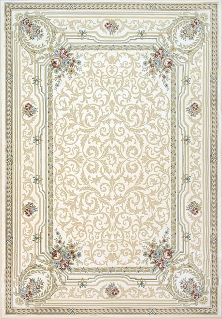 Dynamic Rugs Ancient Garden 57090-6666 Cream-Grey Traditional