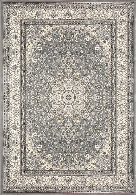 Dynamic Rugs Ancient Garden 57119-5666 Grey-Cream Traditional