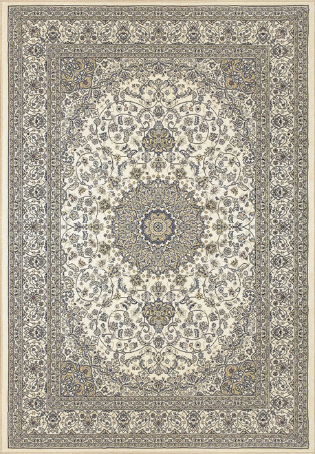 Dynamic Rugs Ancient Garden 57119-6464 Ivory Traditional