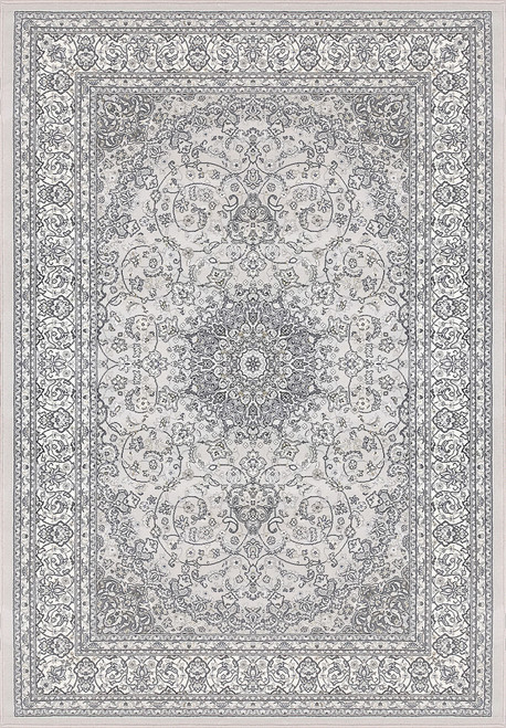 Dynamic Rugs Ancient Garden 57119-9666 Soft Grey-Cream Traditional