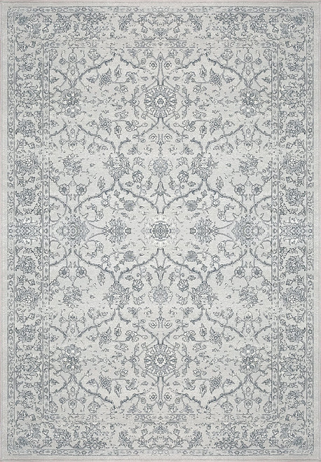 Dynamic Rugs Ancient Garden 57136-9696 Silver-Grey Traditional