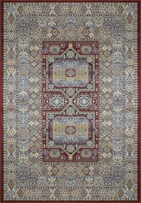 Dynamic Rugs Ancient Garden 57147-1454 Red