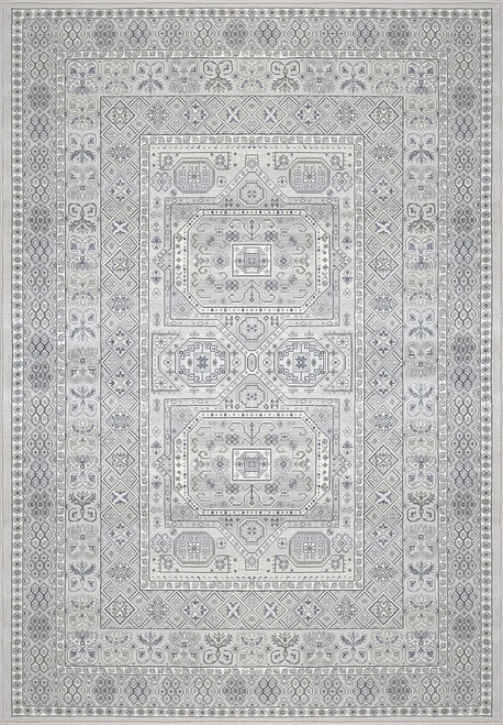 Dynamic Rugs Ancient Garden 57147-9696 Silver-Grey Traditional