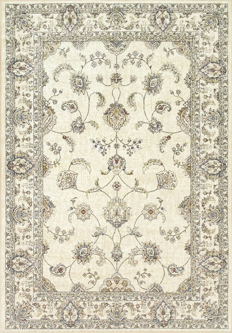 Dynamic Rugs Ancient Garden 57159-6464 Ivory Traditional