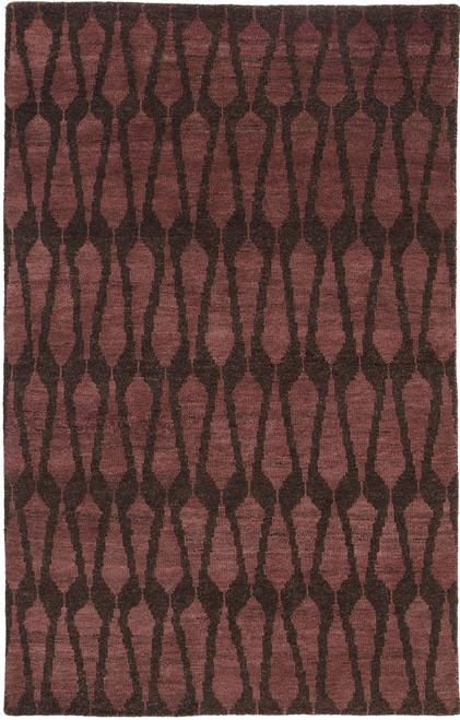 Jaipur Living Sabot Hand-Knotted Brown-Purple Area Rug  - JAI-Purple AZL01