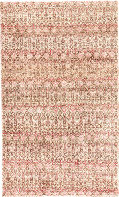 Jaipur Living Cane Hand-Knotted Brown-Red Area Rug  - JAI-Brown CRX03