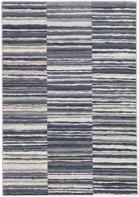 Jaipur Living Kenith Stripe Blue-Gray Area Rug  - JAI-Blue DSH15
