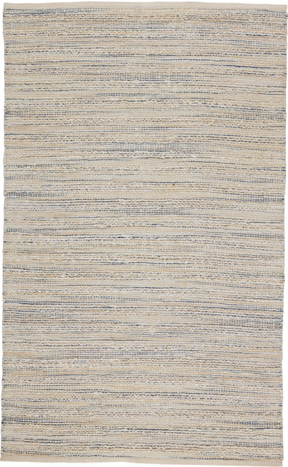 Jaipur Living Canterbury Natural Stripe White-Blue Area Rug  - JAI-White HM25