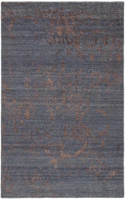 Jaipur Living Rou Hand-Knotted Blue-Brown Area Rug  - JAI-Blue HR19